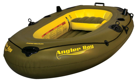 Airhead Angler Bay Inflatable Boat 3 Person - AIRHEAD - Dropship Direct Wholesale