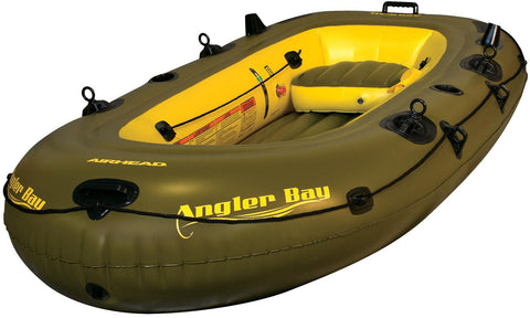 Airhead Angler Bay Inflatable Boat 4 Person - AIRHEAD - Dropship Direct Wholesale