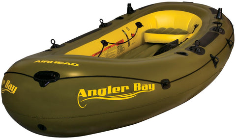 Airhead Angler Bay Inflatable Boat 6 Person - AIRHEAD - Dropship Direct Wholesale