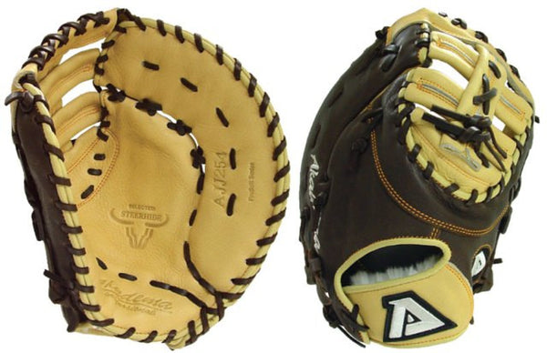 AJJ254-RT Pro Soft Series 12.5 Inch Baseball First Base Mitt Right Hand Throw - Akadema - Dropship Direct Wholesale