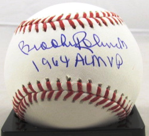 Brooks Robinson Autographed Official MLB Baseball with 64 AL MVP Inscription - MLBPAA - Dropship Direct Wholesale
