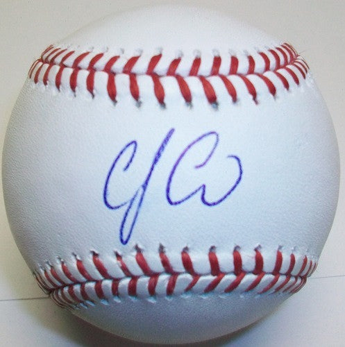 CJ Cron Autographed Official MLB Baseball - MLBPAA - Dropship Direct Wholesale