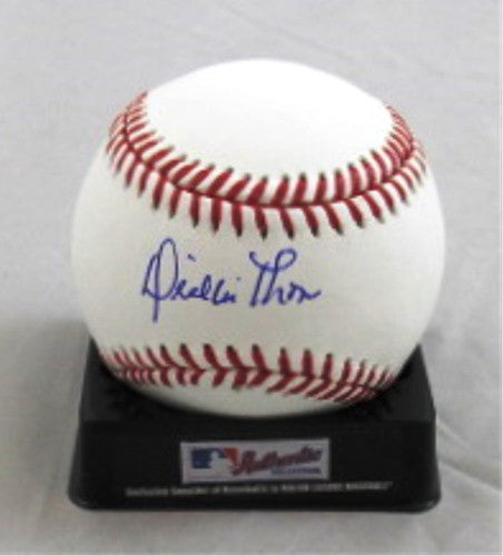 Dickie Thon Autographed Official MLB Baseball - MLBPAA - Dropship Direct Wholesale