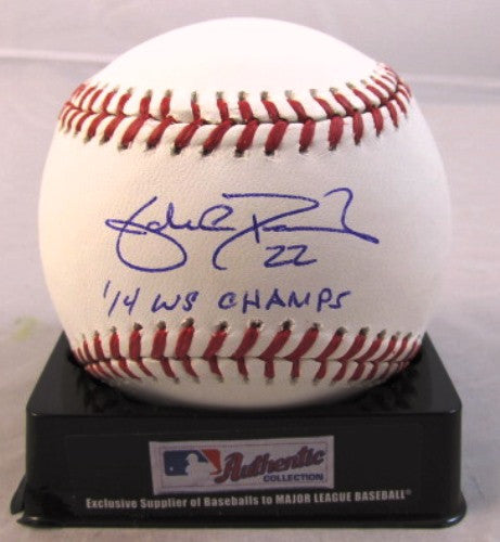 Jake Peavy Autographed Official MLB Baseball Baseball with 14 WS Champs Inscription - MLBPAA - Dropship Direct Wholesale