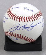 JT Snow Autographed Official MLB Baseball with Career Stat - MLBPAA - Dropship Direct Wholesale