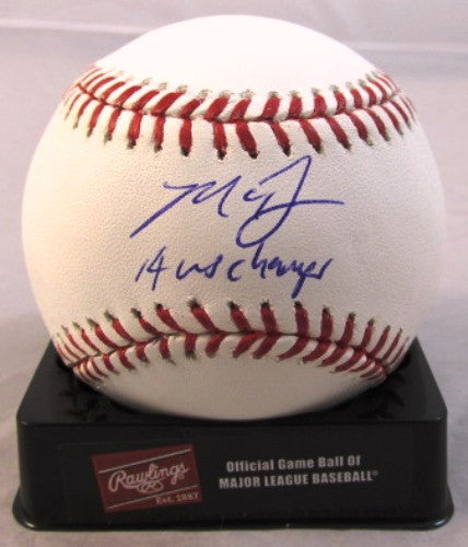 Madison Bumgarner Autographed Official MLB Baseball with 14 WS Champs Inscription - MLBPAA - Dropship Direct Wholesale