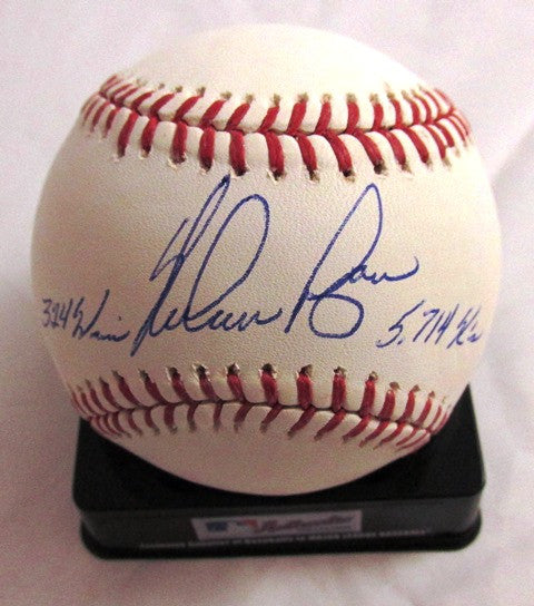 Nolan Ryan Autographed Official MLB Baseball with 324 Wins/5714 Ks Inscriptions - MLBPAA - Dropship Direct Wholesale