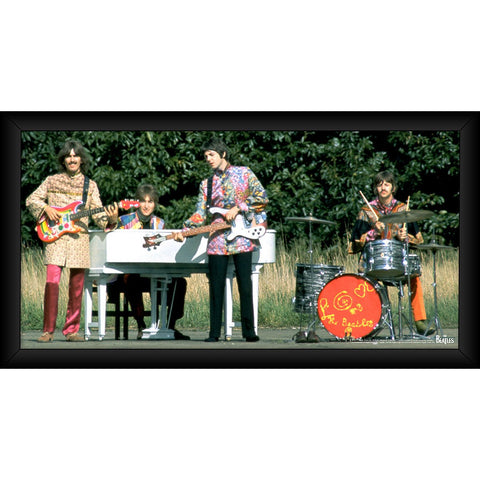 The Beatles 1967 Love the Beatles 10x20 Framed Photo