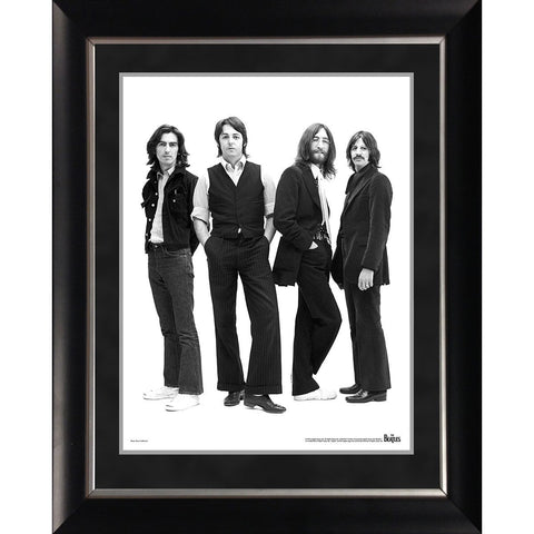 The Beatles 1970 Group Portrait 11x14 Framed Photo
