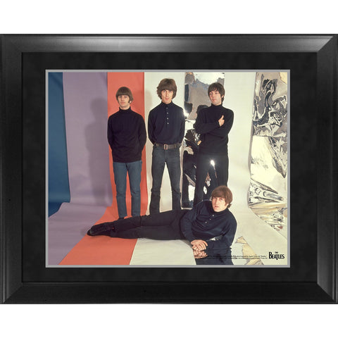 The Beatles Through the Years 1965 Group Pose Framed 16x20 Photo
