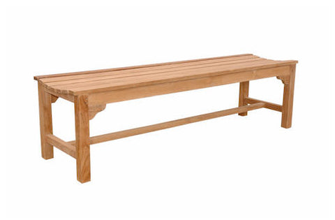 Hampton 3-Seater Backless Bench - Anderson Teak - Dropship Direct Wholesale