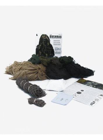 BUSHRAG Ultralight Ghillie Suit Kit Desert - BushRag - Dropship Direct Wholesale