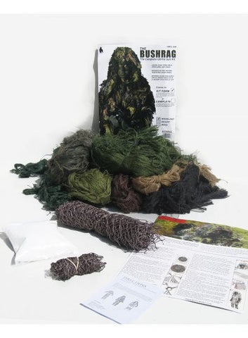 BUSHRAG Ultralight Ghillie Suit Kit Woodland - BushRag - Dropship Direct Wholesale
