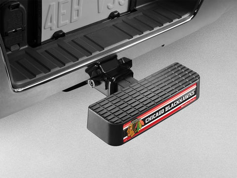BumpStep NHL Hitch Mounted Step and Bumper - Chicago Blackhawks - WeatherTech - Dropship Direct Wholesale - 1