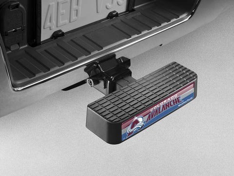 BumpStep NHL Hitch Mounted Step and Bumper - Colorado Avalanche - WeatherTech - Dropship Direct Wholesale - 1