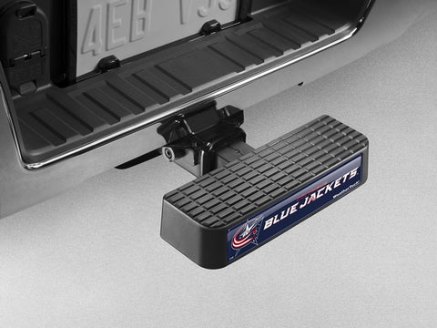 BumpStep NHL Hitch Mounted Step and Bumper - Columbus Blue Jackets - WeatherTech - Dropship Direct Wholesale - 1