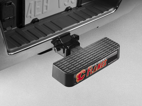 BumpStep NHL Hitch Mounted Step and Bumper - Calgary Flames - WeatherTech - Dropship Direct Wholesale - 1