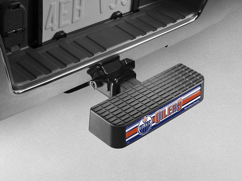 BumpStep NHL Hitch Mounted Step and Bumper - Edmonton Oilers - WeatherTech - Dropship Direct Wholesale - 1