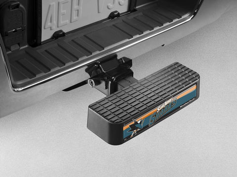 BumpStep NHL Hitch Mounted Step and Bumper - San Jose Sharks - WeatherTech - Dropship Direct Wholesale - 1