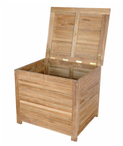 Camrose Storage Box (small) - Anderson Teak - Dropship Direct Wholesale