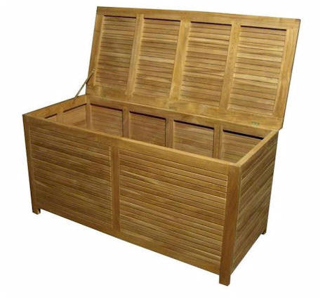 Camrose Storage Box Large - Anderson Teak - Dropship Direct Wholesale