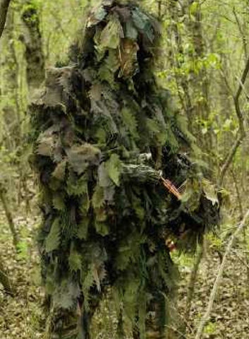 CHAMELEON Ghillie Long Jacket Woodland M/L - BushRag - Dropship Direct Wholesale