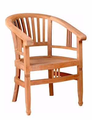 Captains Armchair - Anderson Teak - Dropship Direct Wholesale