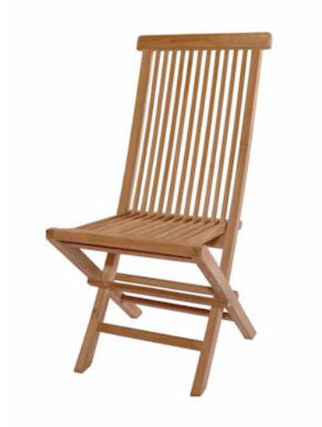 CHF101 Classic Folding Chair - Anderson Teak - Dropship Direct Wholesale
