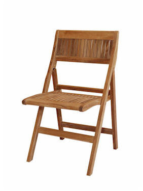 Windsor Folding Chair - Anderson Teak - Dropship Direct Wholesale