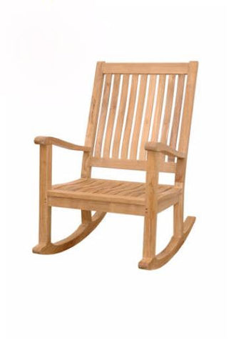 CHR101 Del-Amo Rocking Armchair - Anderson Teak - Dropship Direct Wholesale