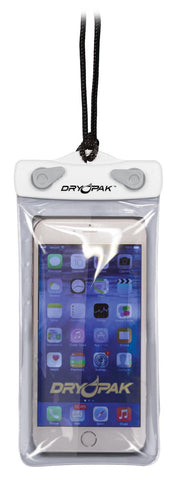 Dry Pak Cell Phone Case 4 X 7 White/Gray - Dry Pak - Dropship Direct Wholesale