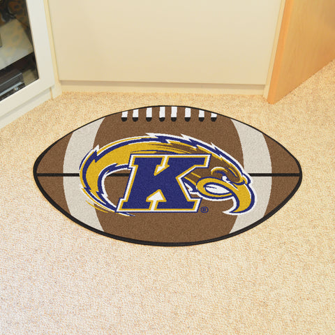 Kent State Football Rug 20.5x32.5 - FANMATS - Dropship Direct Wholesale