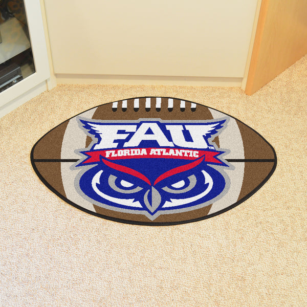 Florida Atlantic University Football Rug 20.5x32.5 - FANMATS - Dropship Direct Wholesale