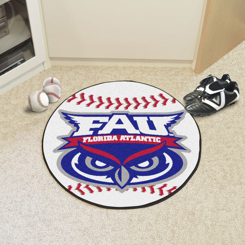 Florida Atlantic University Baseball Mat 27 diameter - FANMATS - Dropship Direct Wholesale