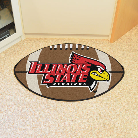 Illinois State Football Rug 20.5x32.5 - FANMATS - Dropship Direct Wholesale