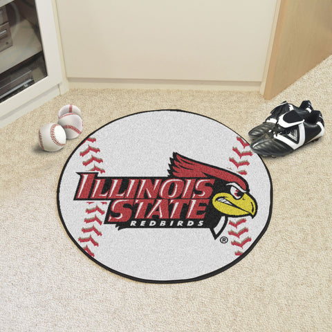 Illinois State Baseball Mat 27 diameter - FANMATS - Dropship Direct Wholesale
