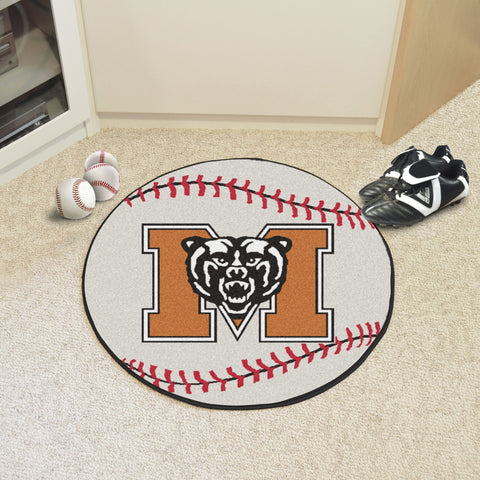 Mercer University Baseball Mat 27 diameter - FANMATS - Dropship Direct Wholesale