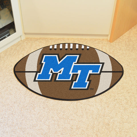 Middle Tennessee State Football Rug 20.5x32.5 - FANMATS - Dropship Direct Wholesale
