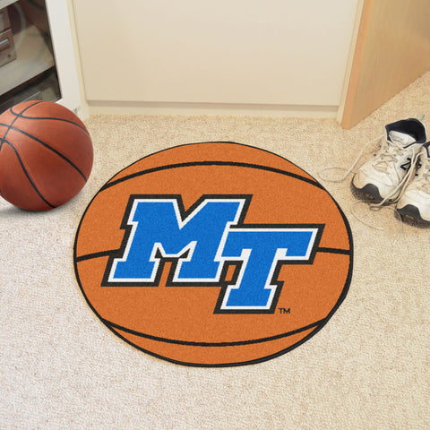 Middle Tennessee State Basketball Mat 27 diameter - FANMATS - Dropship Direct Wholesale