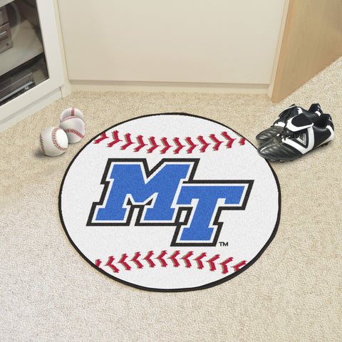 Middle Tennessee State Baseball Mat 27 diameter - FANMATS - Dropship Direct Wholesale