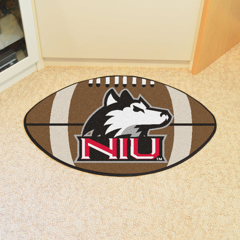 Northern Illinois University Football Rug 20.5x32.5 - FANMATS - Dropship Direct Wholesale