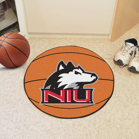Northern Illinois University Basketball Mat 27 diameter - FANMATS - Dropship Direct Wholesale