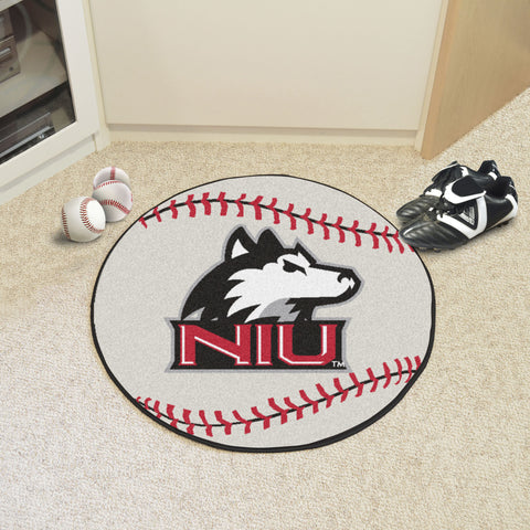 Northern Illinois University Baseball Mat 27 diameter - FANMATS - Dropship Direct Wholesale