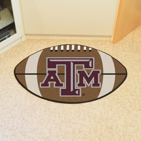 Texas A&M Football Rug 20.5x32.5 - FANMATS - Dropship Direct Wholesale
