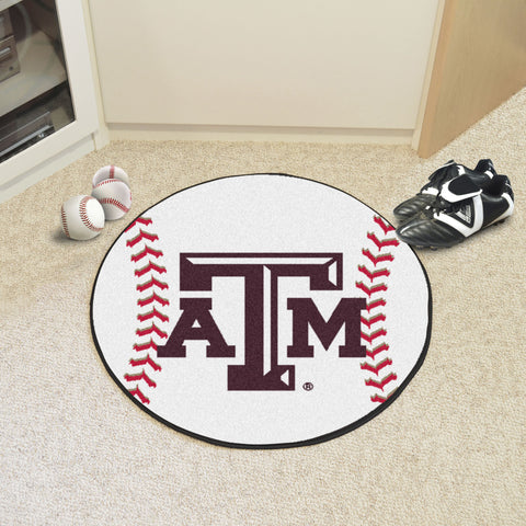 Texas A&M Baseball Mat 27 diameter - FANMATS - Dropship Direct Wholesale