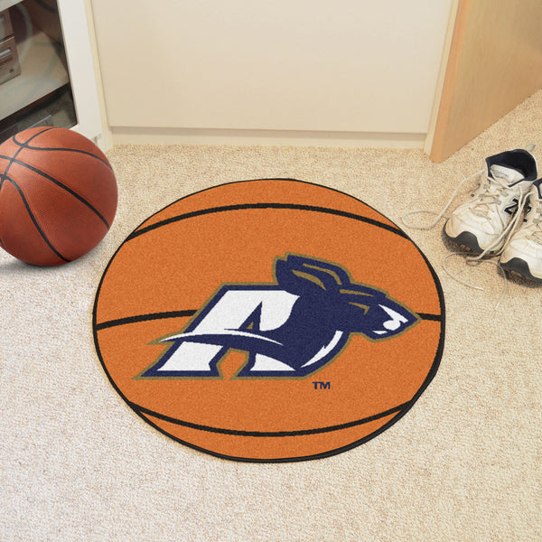 University of Akron Basketball Mat 27 diameter - FANMATS - Dropship Direct Wholesale