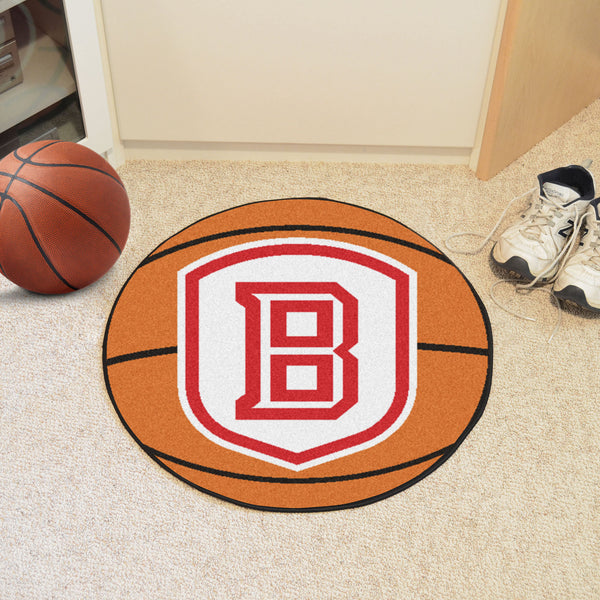 Bradley University Basketball Mat 27 diameter - FANMATS - Dropship Direct Wholesale