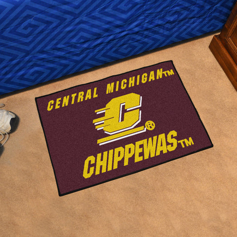 Central Michigan University Starter Rug 20x30 - FANMATS - Dropship Direct Wholesale
