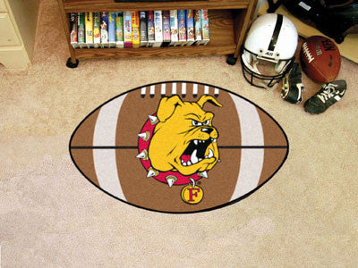 Ferris State Football Rug 22x35 - FANMATS - Dropship Direct Wholesale