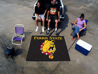 Ferris State Tailgater Rug 60x72 - FANMATS - Dropship Direct Wholesale